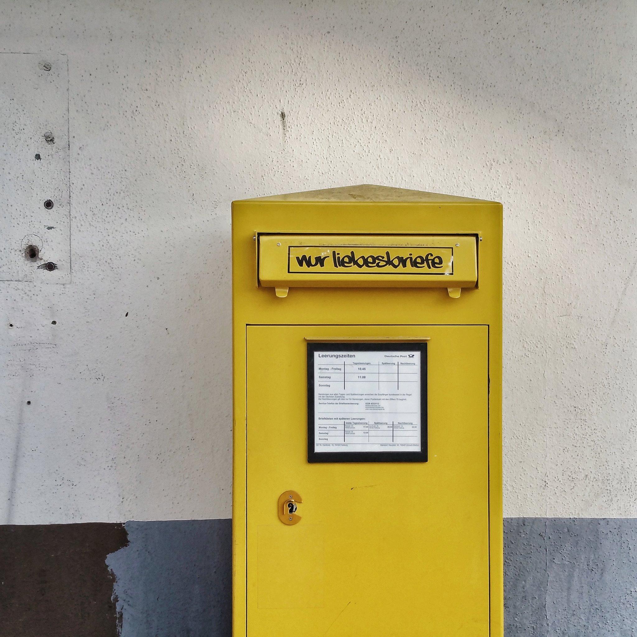 Briefkasten: Nur Liebesbriefe