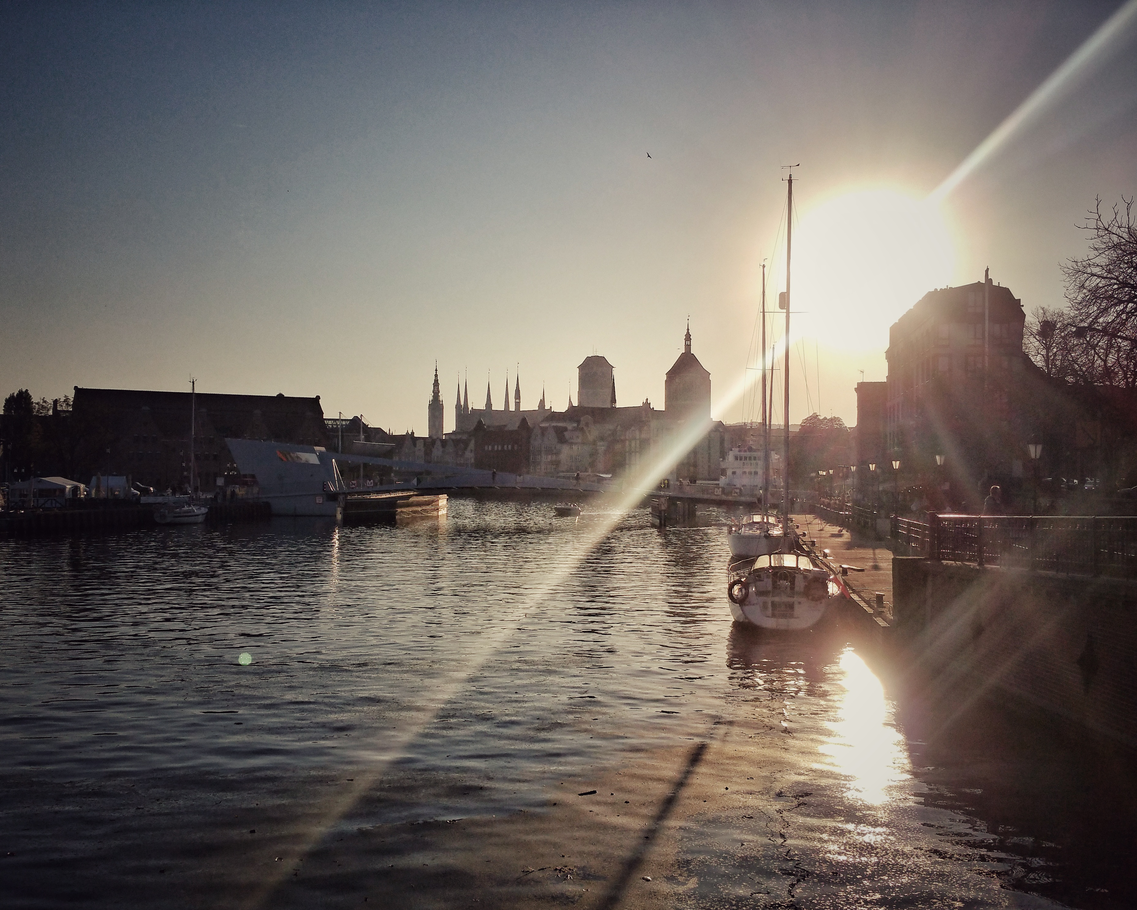 Sonnenuntergang, Gdansk | ©Anne Seubert