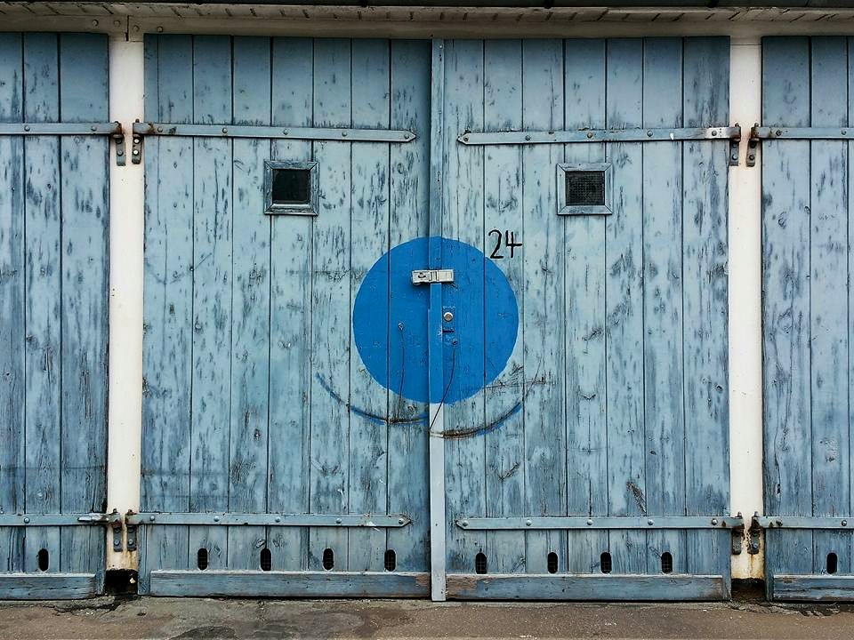 Blue Door No 24 | Anne Seubert
