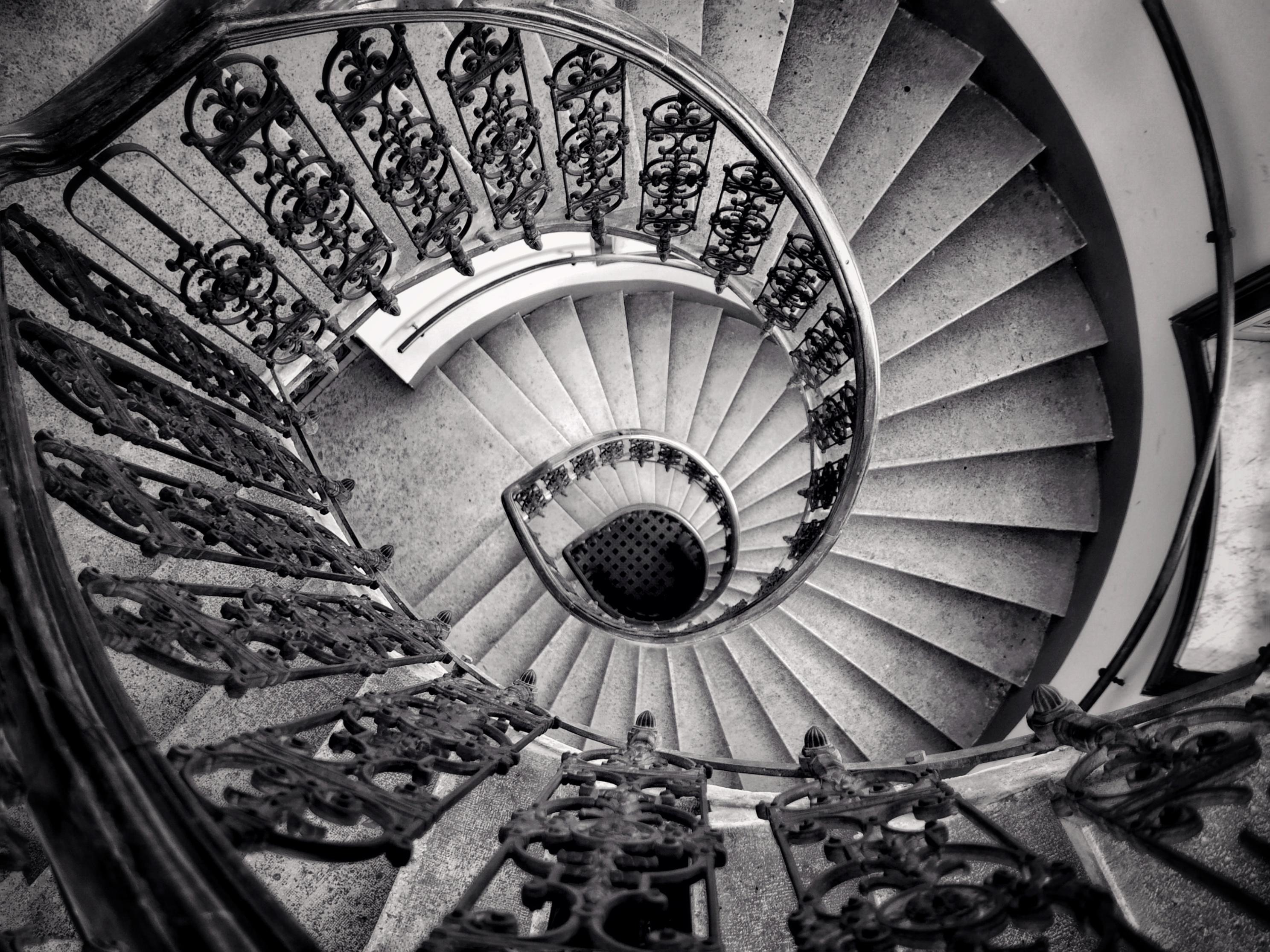 Staircase, Vienna | Anne Seubert
