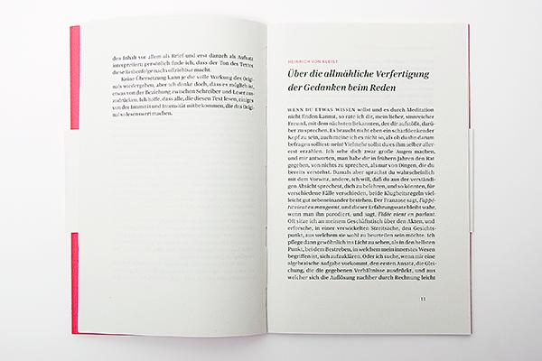 Über die allmähliche Verfassung der Gedanken beim Reden |Erik Spiekermann
