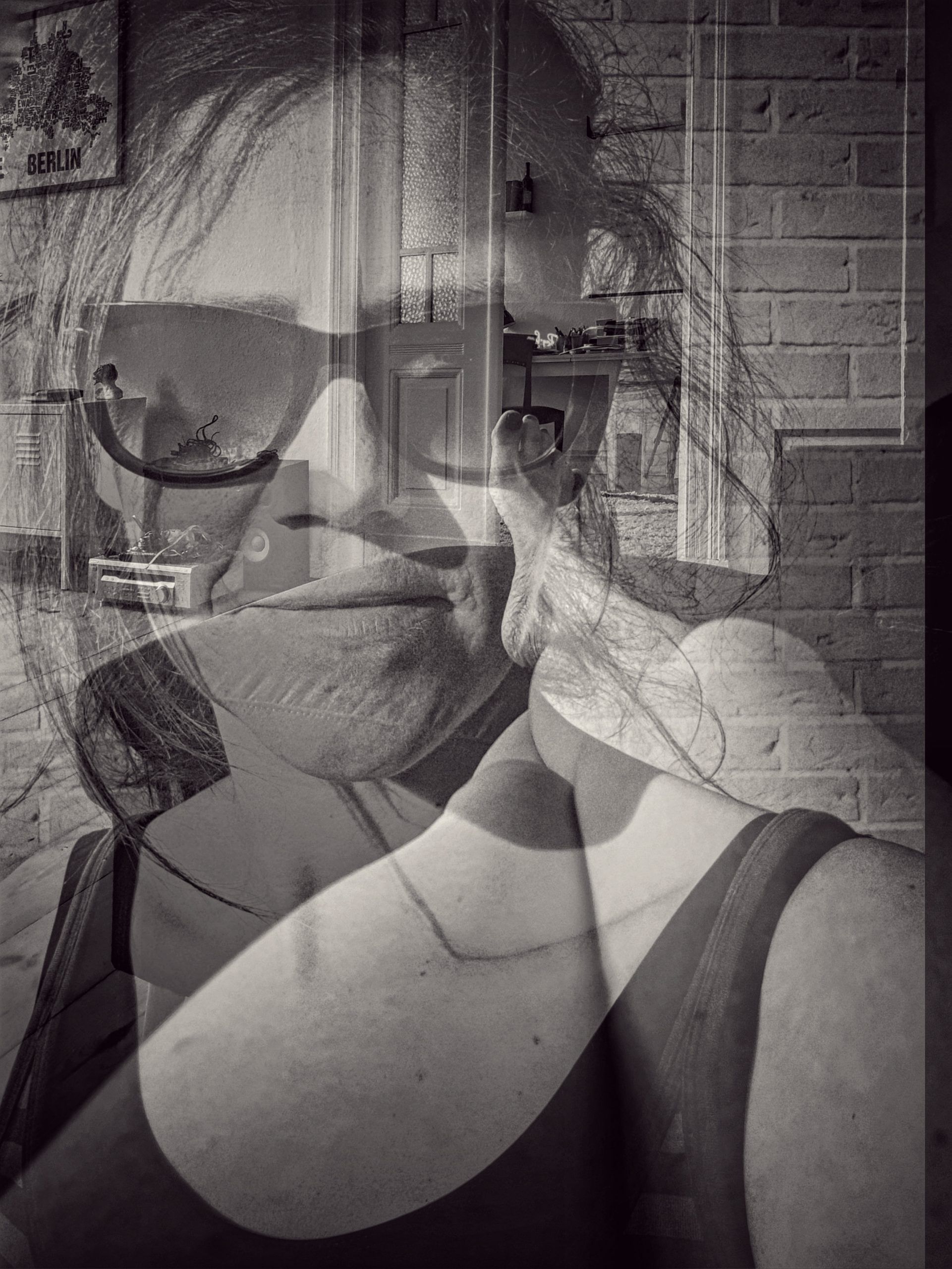 Blick auf großer Zeh |©Anne Seubert
